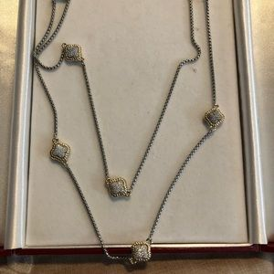 Jewelry - Beautiful necklace ( doubled)